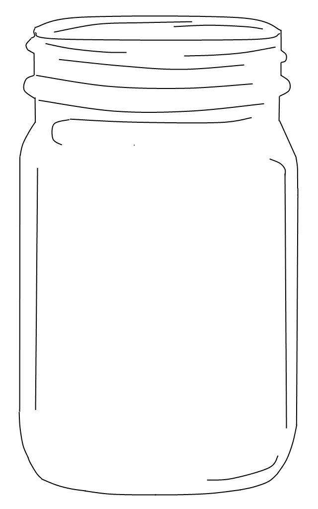 Intrepid image pertaining to free printable mason jar template