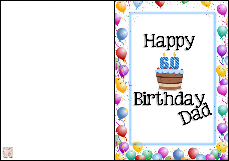 Striking image pertaining to free printable birthday cards for dad