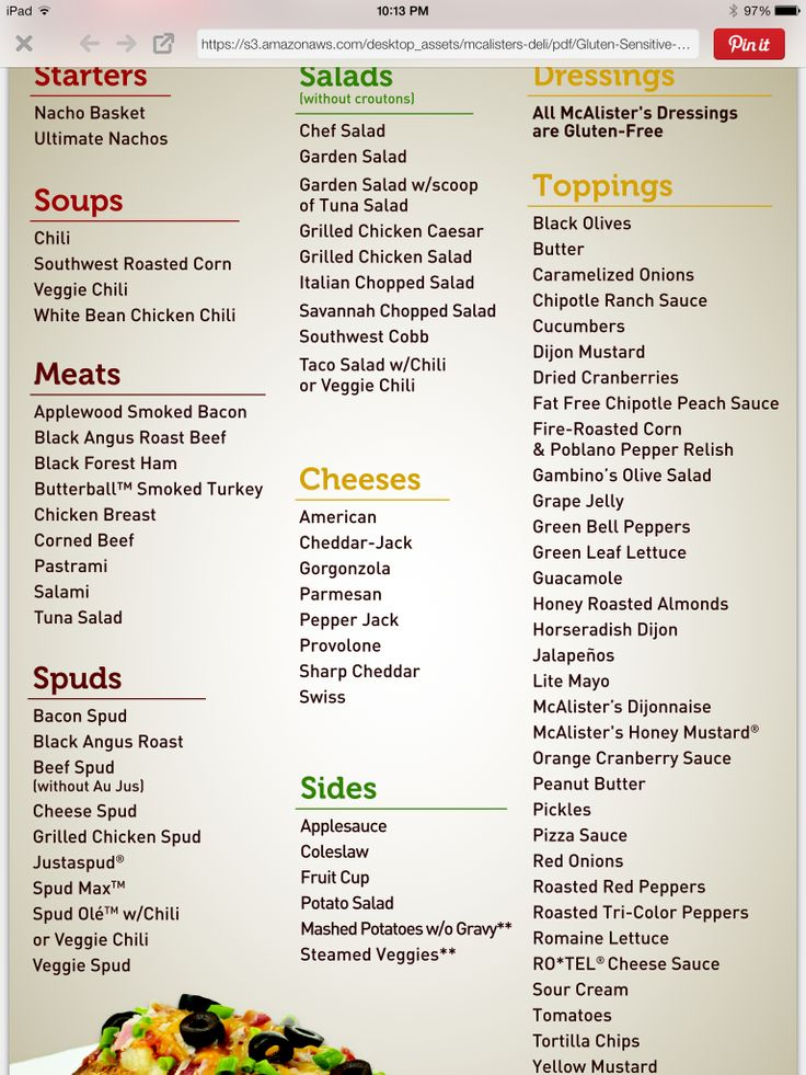 image relating to Mcalister's Printable Menu known as 25+ great strategies above Mcalisters Menu upon Pinterest