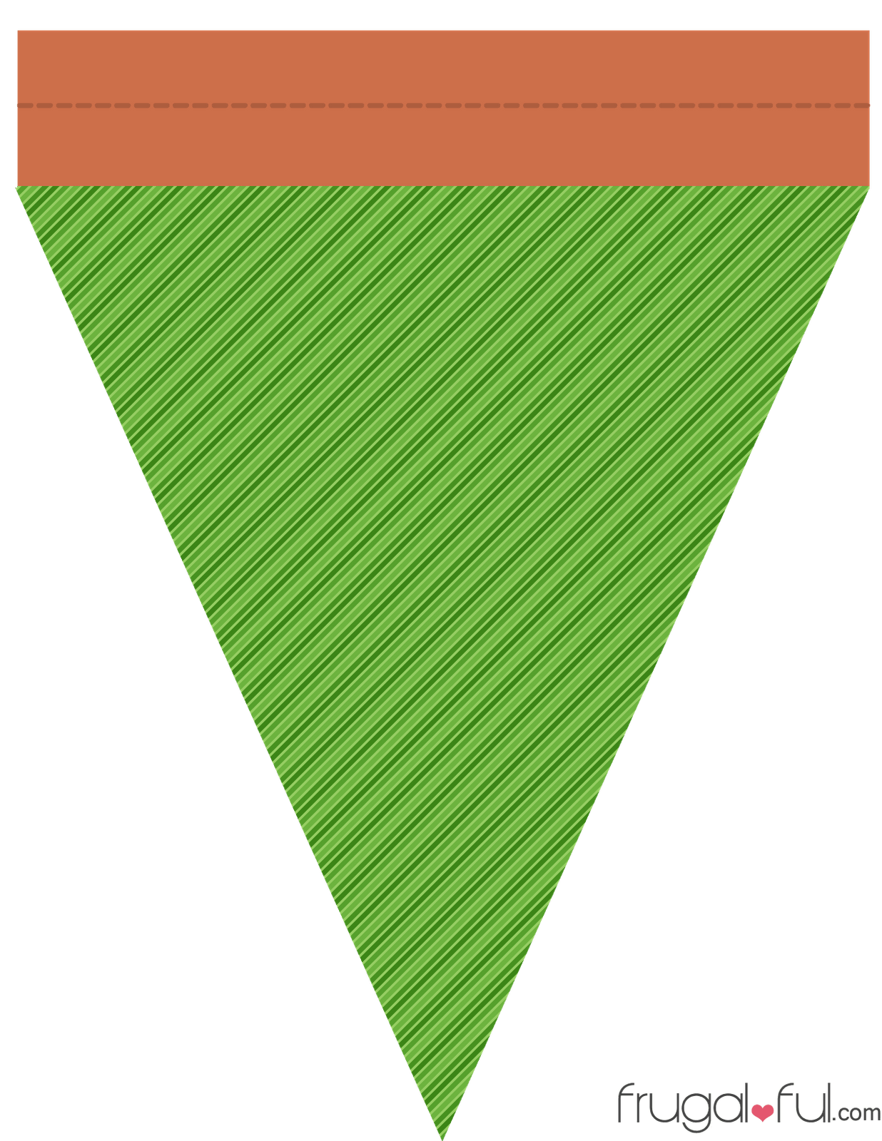 Diy free printable halloween triangle banner template source 4bpspot maxwellsz