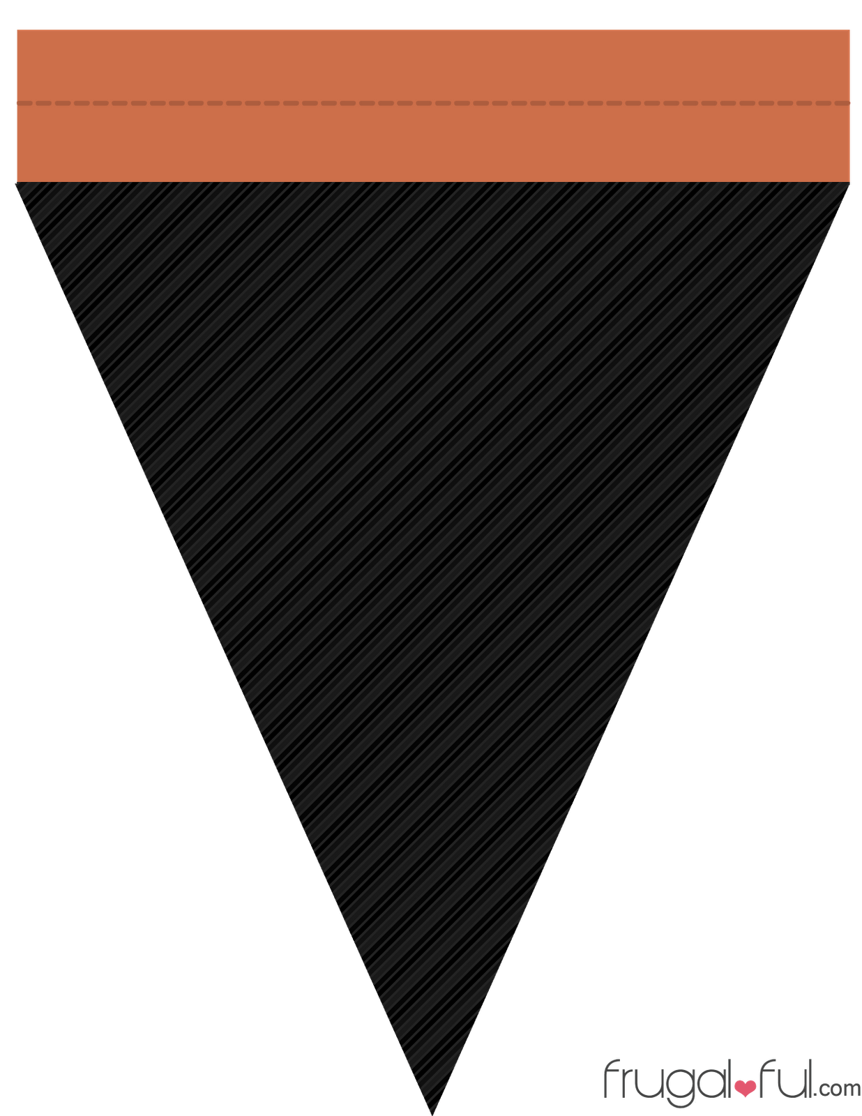 Diy free printable halloween triangle banner template diy free printable halloween triangle banner template maxwellsz