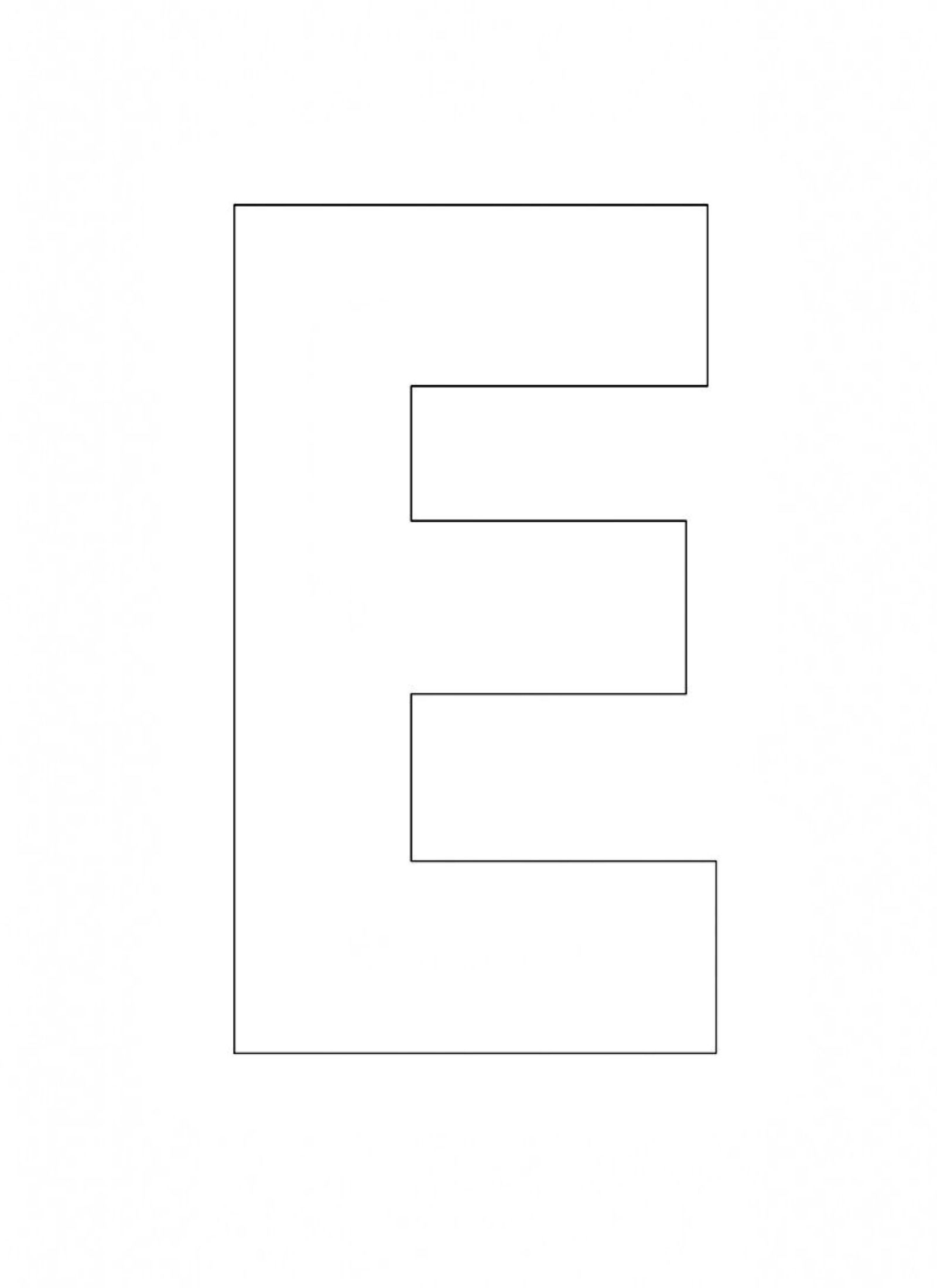 picture regarding Letter E Printable referred to as letter e printable PrintableTemplates