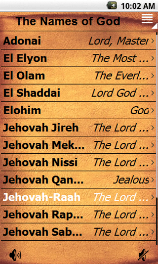 Inventive image in printable list of the names of god pdf