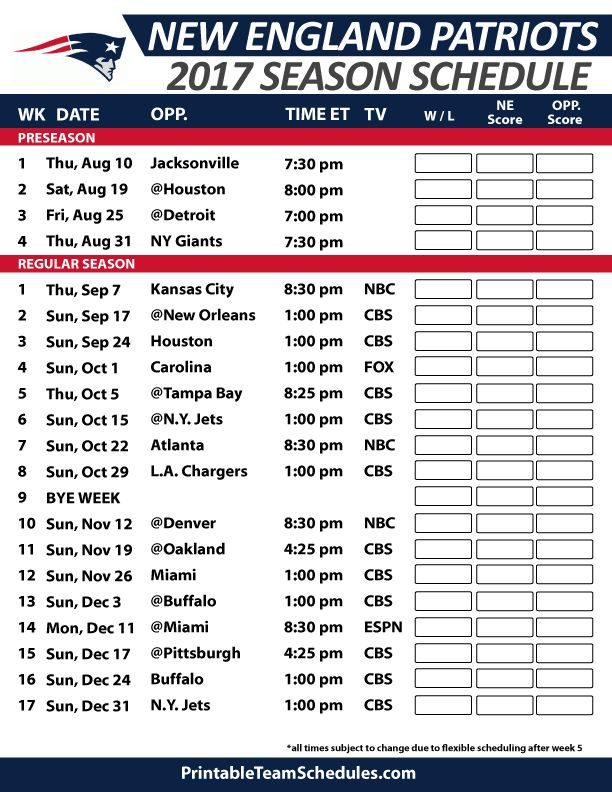 It is an image of Current Printable Nfl Team Schedules